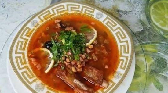 солянка мясная сборная пошаговый рецепт