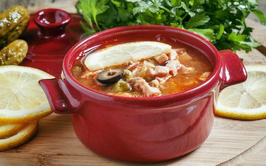 суп солянка сборная рецепт классический рецепт