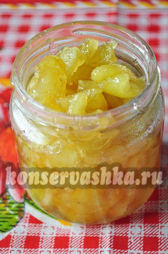 Яблочное варенье после варки необходимо немного охладить