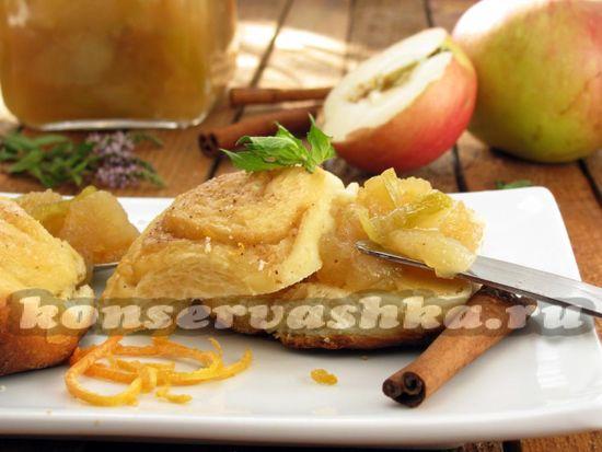 рецепт варенья из яблок и апельсинов