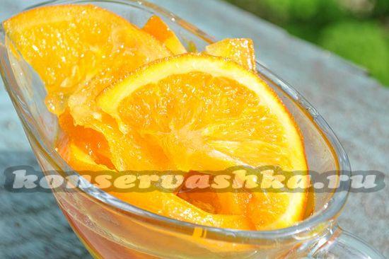 рецепт варенья из апельсинов