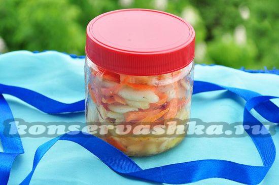 рецепт маринованных кабачков по-корейски