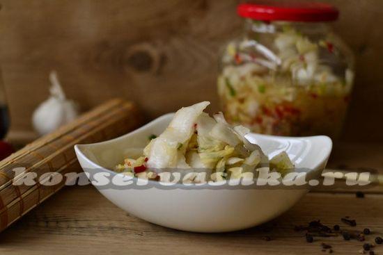 Кимчи по-корейски, рецепт с фото