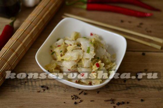 рецепт кимчи из капусты