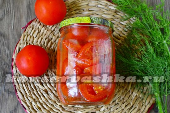рецепт томатов на зиму как свежие