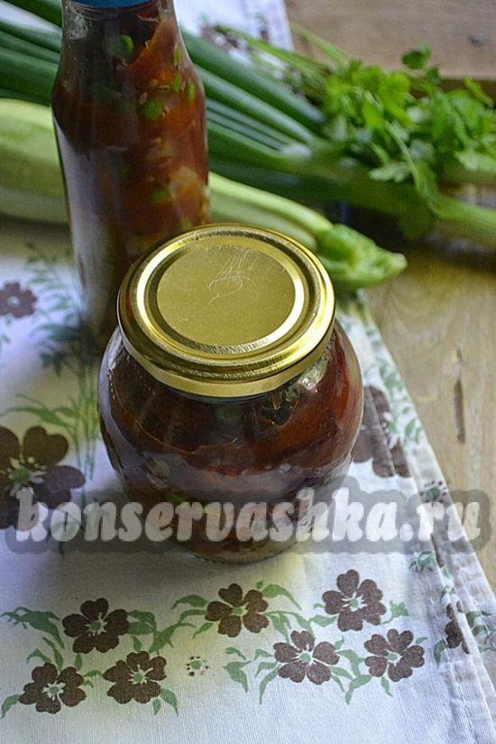 овощной салат на зиму, рецепт с фото