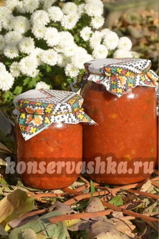 рецепт острого домашнего кетчупа из помидор
