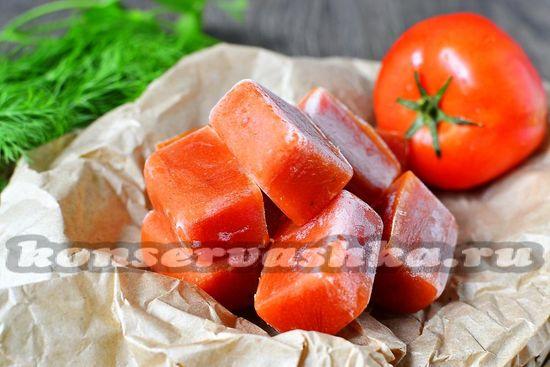 приготовления быстрой томатной пасты