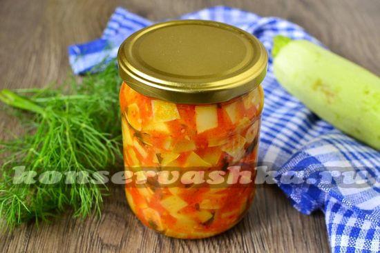 рецепт кабачков в томатном соусе