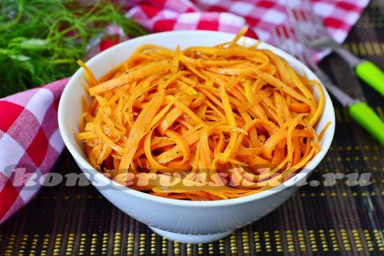 рецепт морковки по-корейски с луком