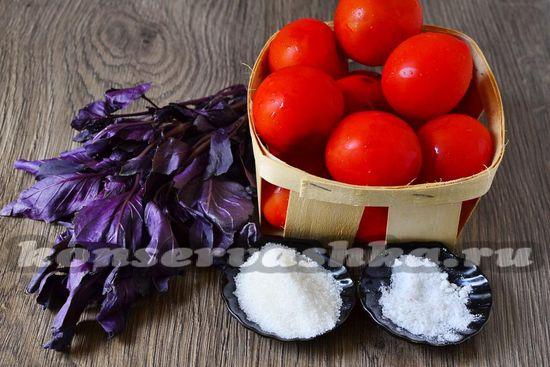 Ингредиенты для приготовления итальянского соуса