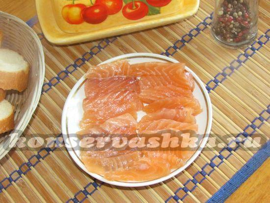 как приготовить малосольный лосось дома