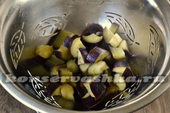 отвариваем овощи в течение пяти минут