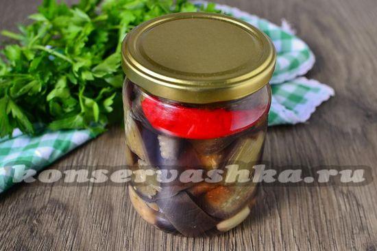 рецепт маринованных баклажан на зиму