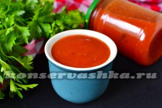 рецепт кетчупа на зиму