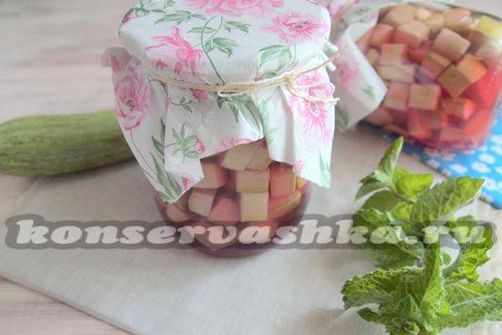 рецепт кабачков с вишней