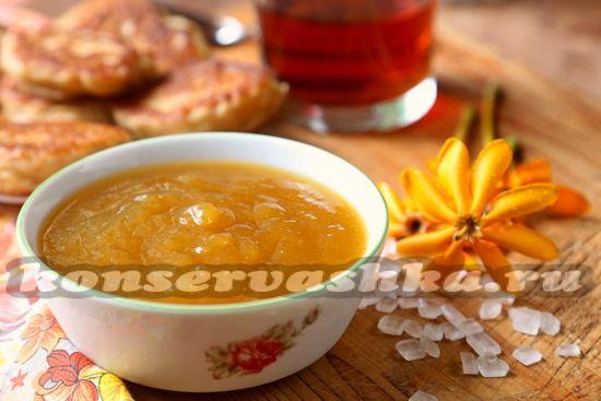 рецепт джема из ананасов