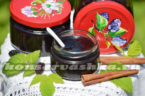 рецепт мармелада из шелковицы