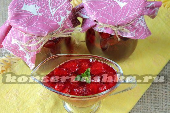 рецепт варенья из клубники пятиминутка