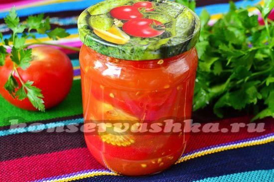 рецепт томатов без сахара и соли