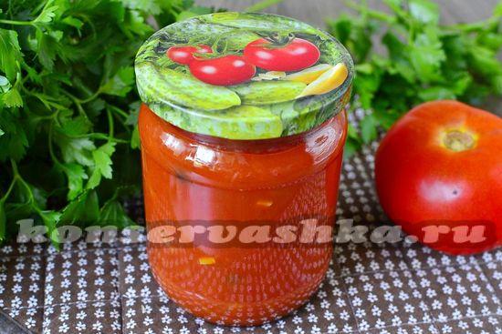 рецепт кубанского томатного соуса