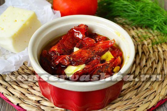 рецепт вяленых помидор в микроволновке