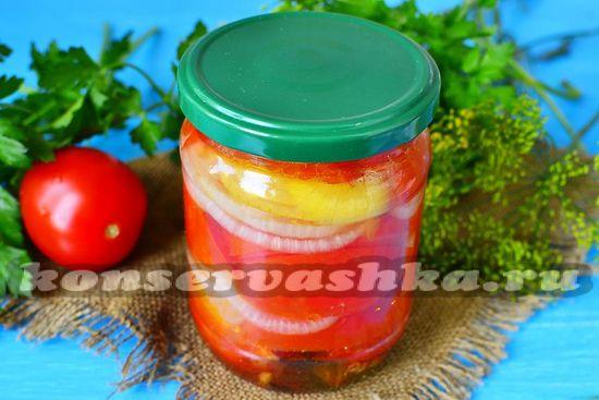 рецепт десертных помидор на зиму