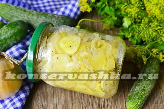 рецепт салата из огурцов Зимний король без стерелизации