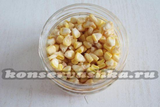 разложим кукурузу в банки