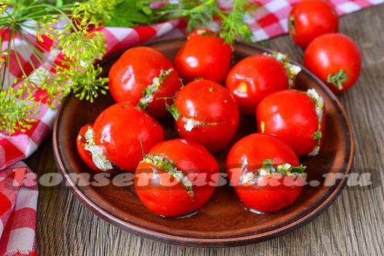 рецепт маринованных томатов