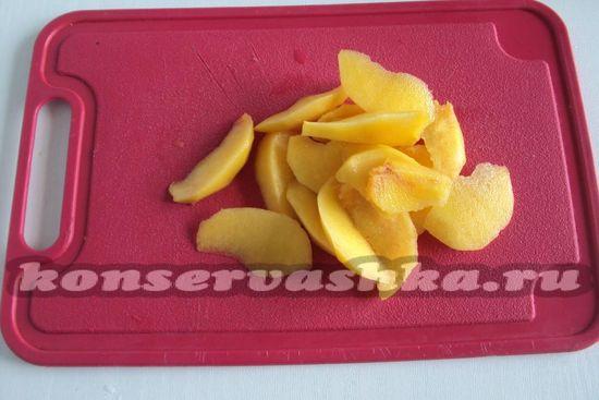 нарежем персики