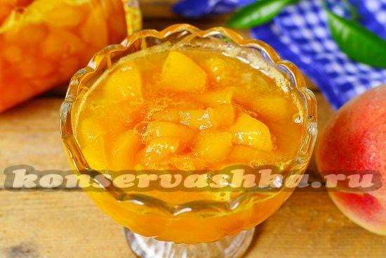 джем из персиков, рецепт с фото