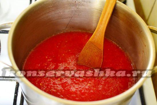 прогреть томаты