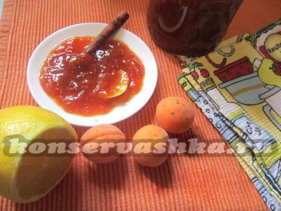 Варенье из абрикоса с корицей