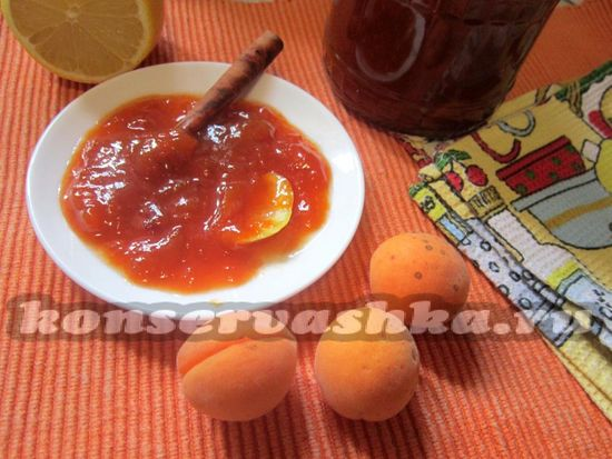 Варенье из абрикосов с корицей, рецепт с фото