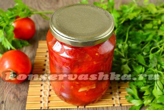 Жареные помидоры на зиму, рецепт с фото