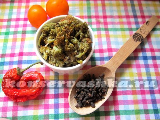 рецепт маринованной капусты брокколи