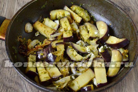 Быстрые маринованные баклажаны - рецепт с фото