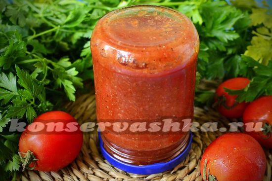 рецепт домашнего томатного соуса в мультиварке