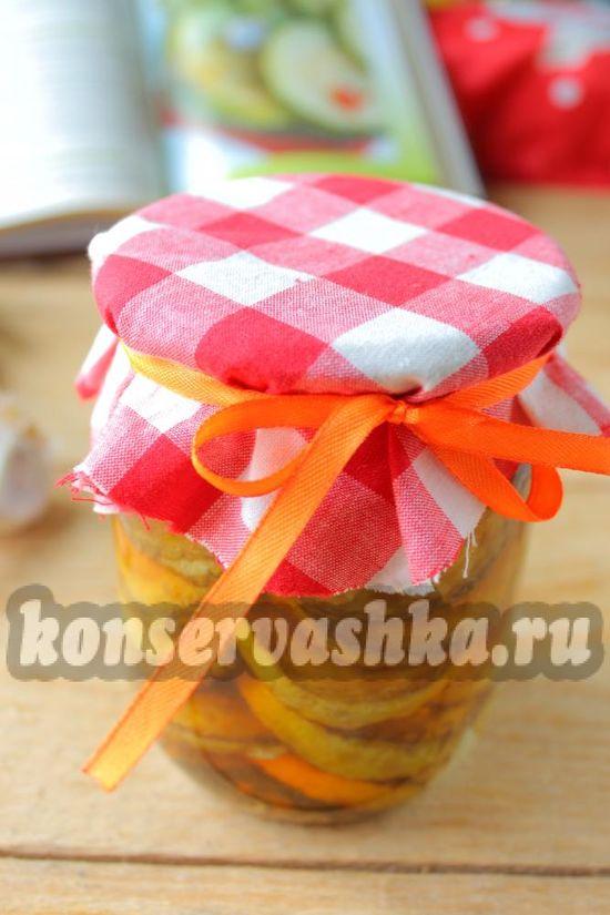 Жареные кабачки на зиму - рецепт с фото