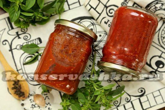 рецепт томатного соуса с базиликом