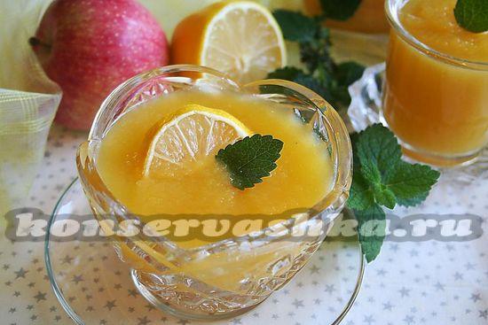 рецепт пюре из тыквы и яблок