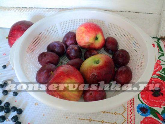 фрукты помыть