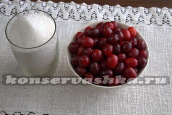Ингредиенты для приготовления компота из огурцов