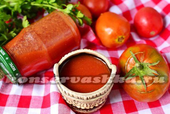 рецепт сладкого домашнего кетчупа