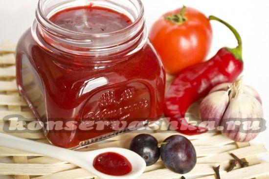 рецепт соуса из слив и томатов