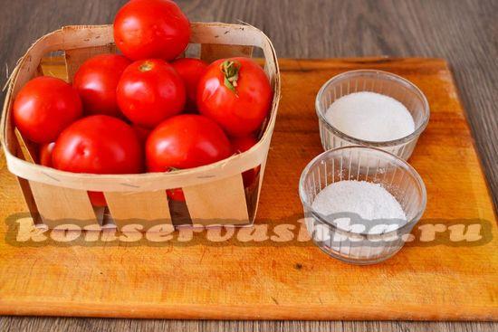 Ингредиенты для приготовления соуса без стерилизации на зиму