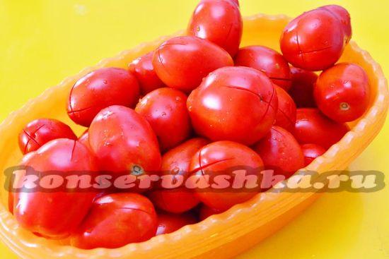 помидоры вымыть
