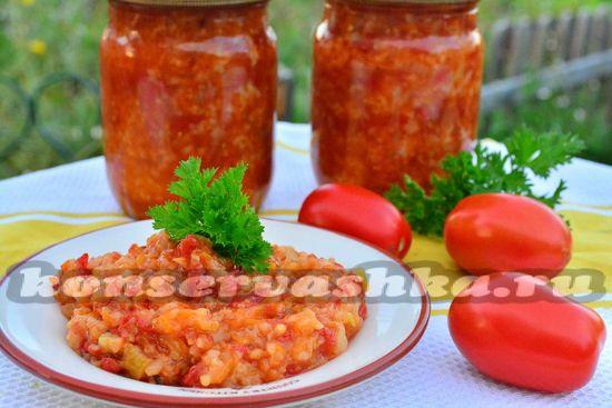 салат с рисом рецепт приготовления на зиму