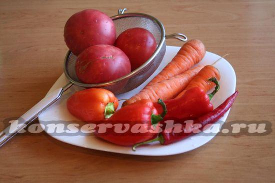 овощи промыть